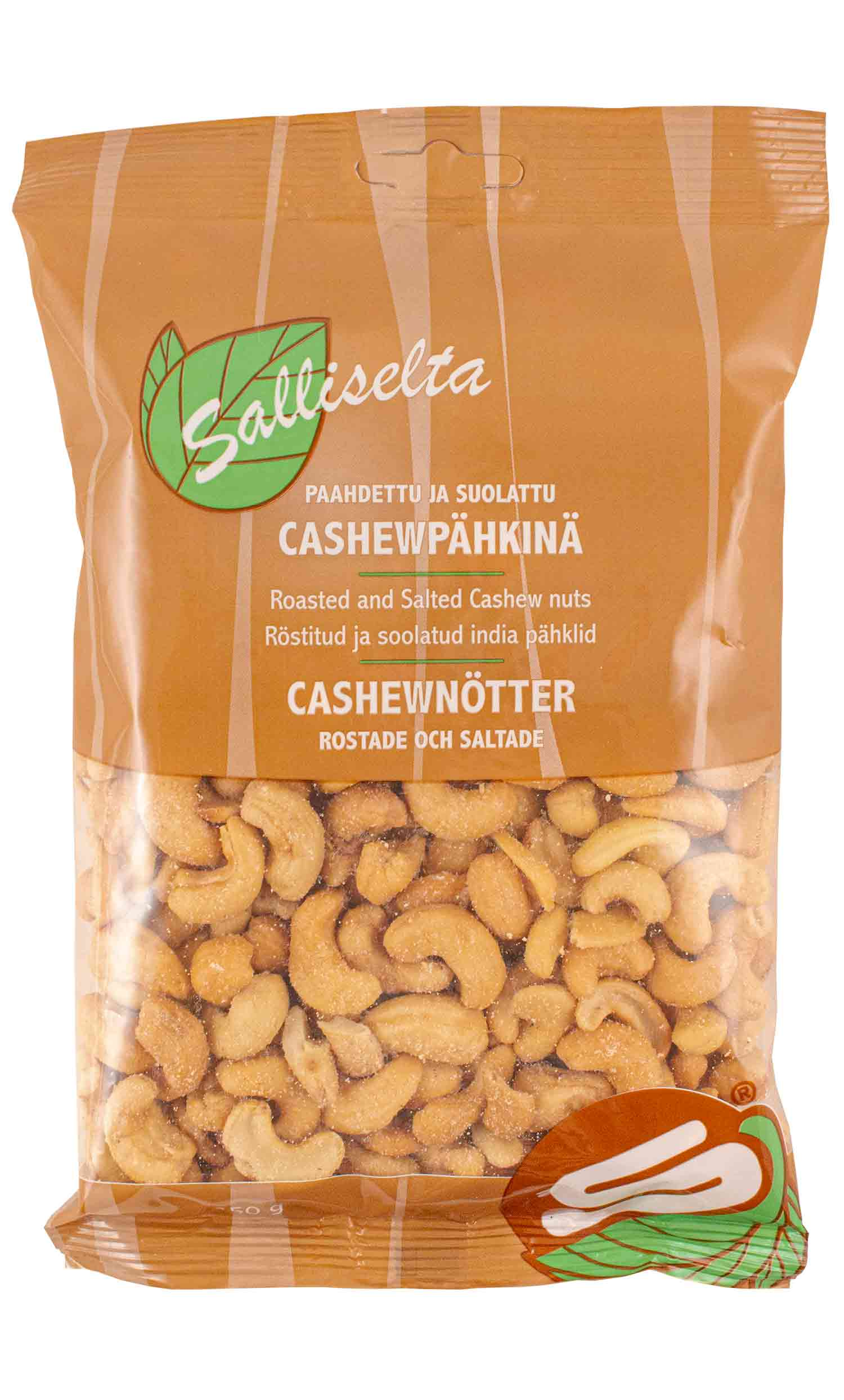 Cashew nuts roasted and salted 350g
